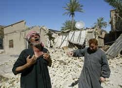 Als Tony Blair beweert dat het tijd is om de kwestie-Irak ,,achter ons te laten'', moeten we daarop antwoorden: ,,Denk aan Fallujah.''