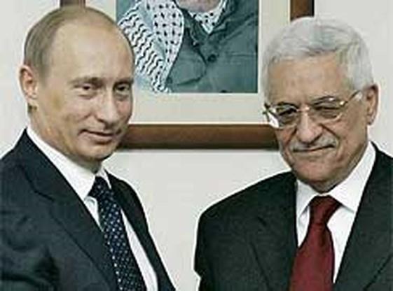 Poetin biedt Palestijnen materieel en training aan