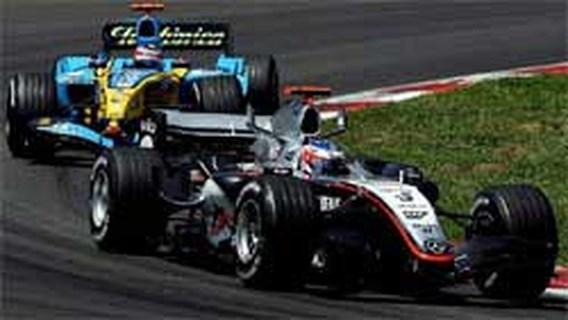 Kimi Raikkonen beste in GP van Spanje