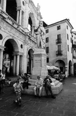 Piazza dei Signori in Vicenza.
