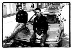 Gumballer Cris Cloots en zijn co-piloot: ,,Onze vorige Ferrari was exclusiever, maar we hebben hem in de prak gereden.''