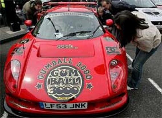 Politie onderschept 21 Gumball Racers
