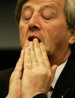 Jean-Claude Juncker: als EU-voorzitter voor cruciale weken.