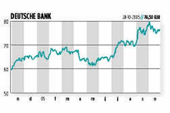 DE VERLEIDER. Campagne Deutsche Bank speelt met inhoud van krant