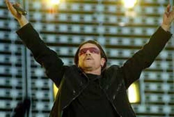 U2 geeft verrassingsoptreden in Londense kerk