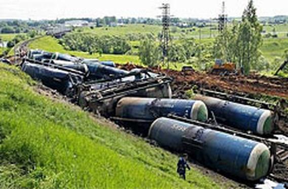 Olieramp bedreigt drinkwater in Moskou