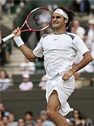 Roger Federer wint Wimbledon