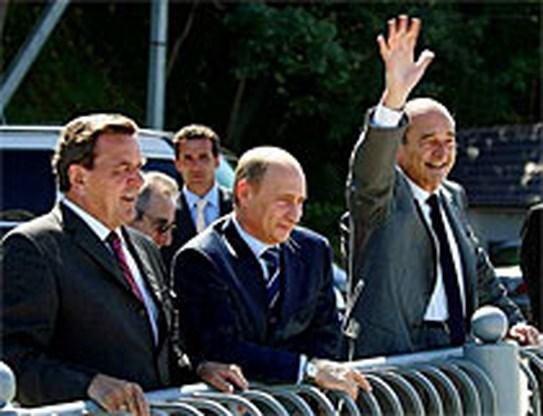 Chirac tapt anti-Britse moppen