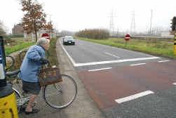 De Woluwelaan in Vilvoorde krijgt een voetgangers- en fietsersbrug.