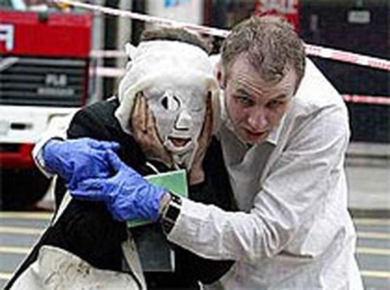 Het masker krijgt een gezicht