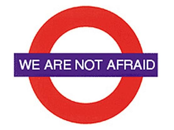 Londen is niet bang