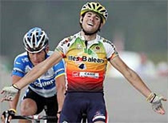 Armstrong opnieuw in het geel