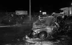 Bij het ongeval op de A12 in Londerzeel kwamen twee mensen om.