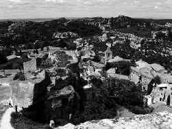 De toeristische trekpleister Les Baux-de-Provence.