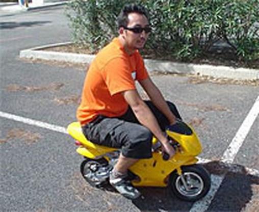Pocket bikes niet toegelaten op openbare weg