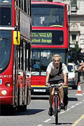 Londense fietsverkoop piekt na aanslagen