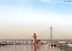 Het viaduct Lange Wapper moet een Antwerps verkeersinfarct voorkomen.
