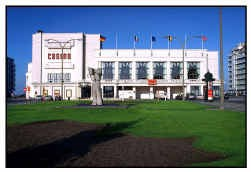 Het casino van Knokke zoals het er nu bijstaat.
