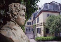 Het geboortehuis van Beethoven is een van de weinige nog resterende achttiende-eeuwse burgerhuizen in Bonn.