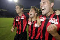 Werry Sels (rechts) kreeg gelijk van de rechtbank in zijn geschil met zijn ex-club Lierse