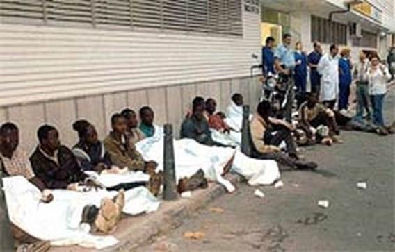 Doden bij bestorming Spaanse exclave door immigranten