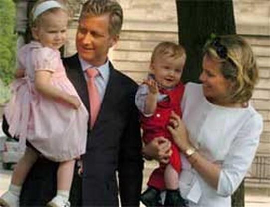 ,,Prinses Mathilde niet zwanger''