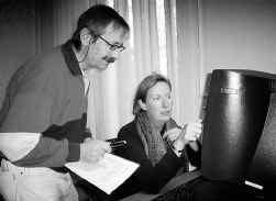 Johan Van Hoorde en Linde van den Bosch: ,,Het gaat om een nieuwe woordenlijst.''