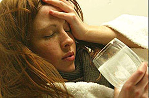Belgen hebben vooral last van hoofdpijn