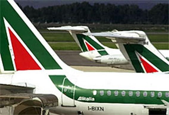 Vluchten geannuleerd op luchthaven Rome