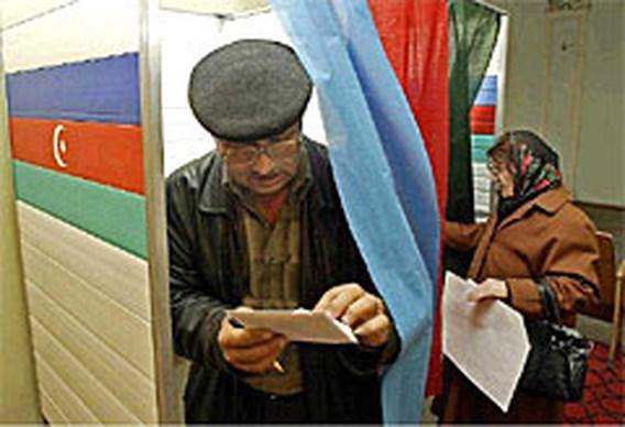 Verkiezingen Azerbeidzjan niet volgens boekje