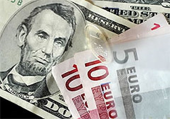 Dollar op dieptepunt tegenover euro