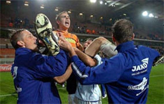 Tweedeklasser Geel wipt Anderlecht