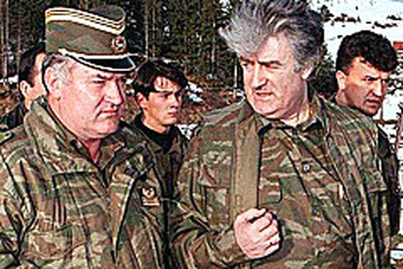 Vreugde na arrestatie Karadzic
