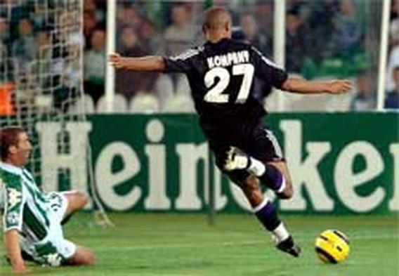 Kompany bezorgt Anderlecht eerste punten in Champions League