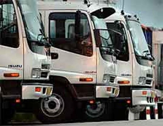 Verkoop zware vrachtwagens bijna gehalveerd