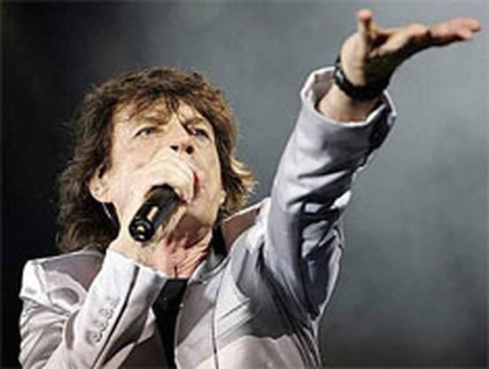 Mick Jagger steekt de draak met Keith Richards