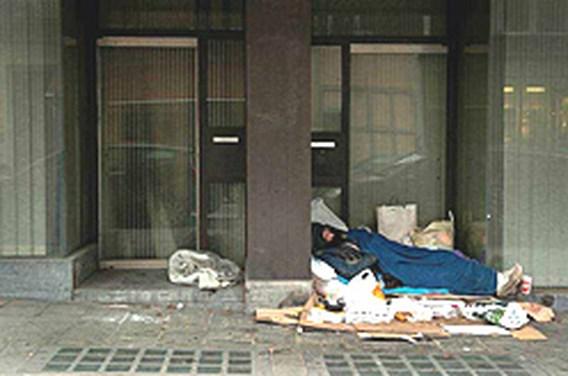 Rond 750.000 daklozen in VS