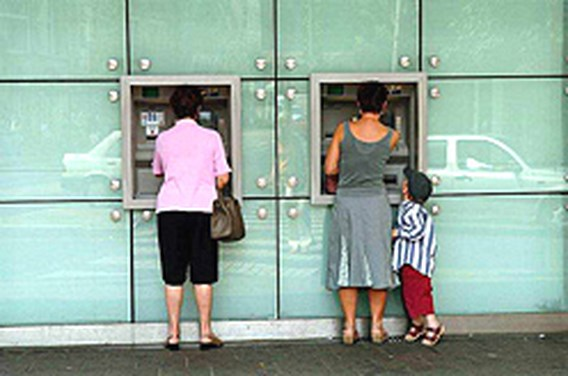 Financiële sector liep 20.000 banen mis