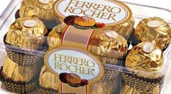 Chinese namaak Ferrero Rocher beboet