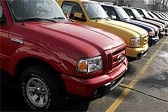 Autoverkoop loopt sterk terug