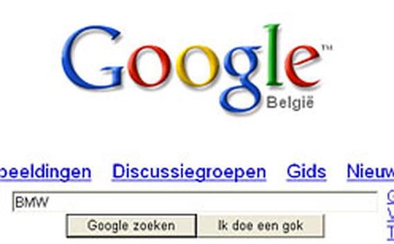 Google.be opnieuw Site van het jaar