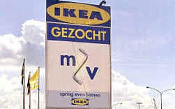 Korte vakbondsactie bij Ikea Ternat