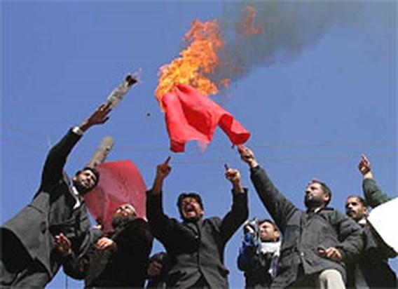 Opnieuw Afghanen gedood tijdens protesten tegen cartoons