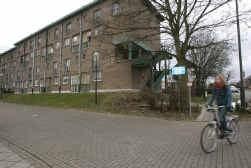 Ook deze sociale woningen op het Kasseiplein in Vilvoorde worden aangepakt.
