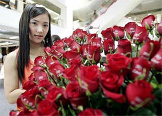 Boeket rozen voor Valentijn dubbel zo duur