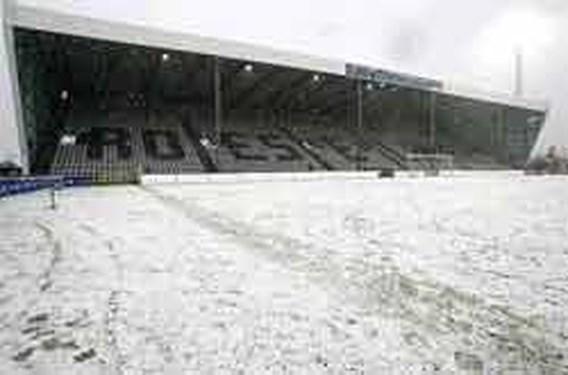 Ook Brussels-Westerlo geannuleerd wegens sneeuwval