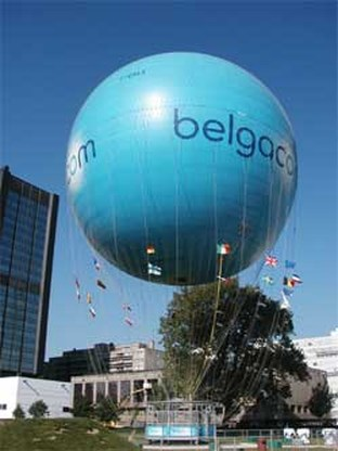 Brusselse Belgacomballon verhuist naar Marokko