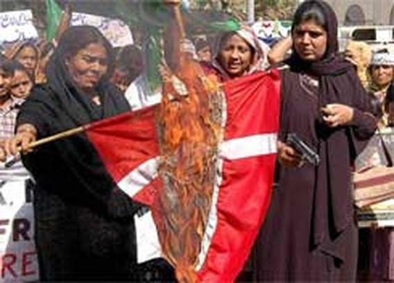 Moslims willen Denemarken voor rechter