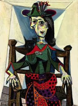 Pablo Picasso, ,,Dora Maar met kat'': 50 miljoen dollar?