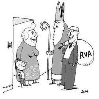 1,2 miljoen Belgen zijn klant bij RVA